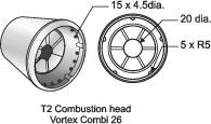Vortex Combi 26