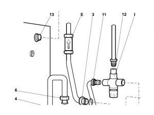 boiler diverter valve boiler system zone valve wiring